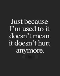 hurt anymore