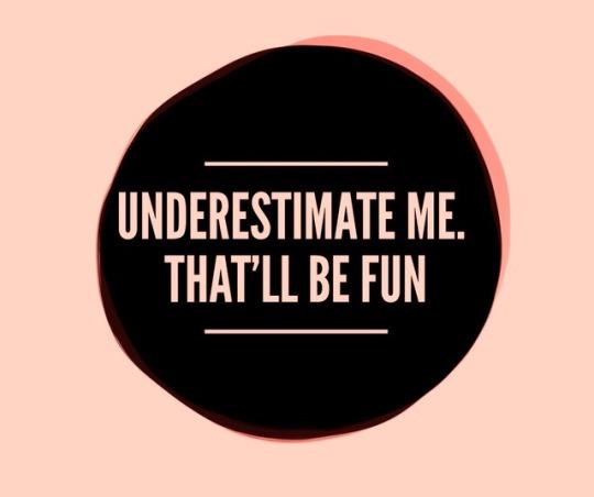 underestimate